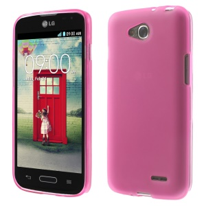 Rose Double-sided Frosted TPU Shell for LG L90 D405 (Glossy Edges)