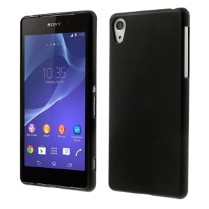 Black Frosted TPU Case for Sony Xperia Z2 D6502 D6503 D6543