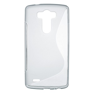 S-Curve TPU Case Cover for LG G3 D850 - Grey