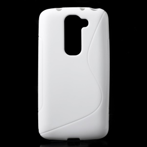 S-line Curve TPU Back Case for LG G2 Mini D620 D618 - White
