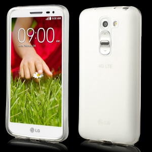 Double-side Matte TPU Gel Shell for LG G2 Mini D620 D618 - Transparent