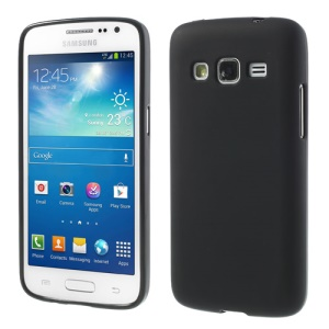 Double-sided Frosted TPU Case for Samsung Galaxy Express 2 II G3815 - Black
