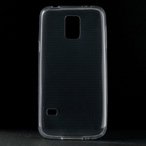Smooth Super Thin 0.6mm Soft TPU Case for Samsung Galaxy S5 mini G800 - Transparent