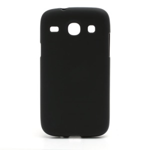 Matte Soft TPU Gel Case for Samsung Galaxy Core I8260 I8262 - Black