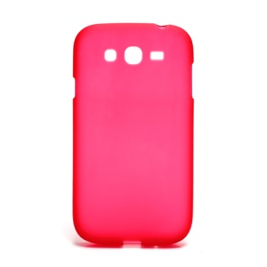 Matte Soft Gel TPU Protector Case for Samsung Galaxy Grand I9080 I9082 / Grand Neo i9060 i9062 - Red