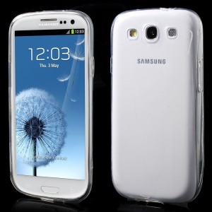 0.6mm Ultra Slim Gel TPU Case for Samsung Galaxy S3 I9300 - Transparent
