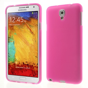 Rose Double-sided Matte TPU Cover for Samsung Galaxy Note 3 Lite N750 / Neo N7500 N7505