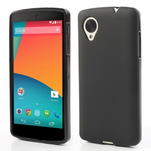 Black for LG Nexus 5 Frosted TPU Gel Case