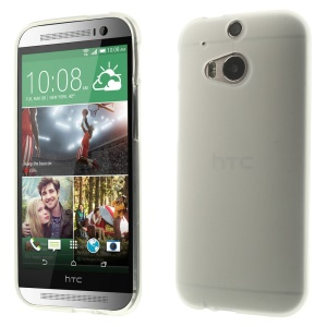 sided Matte TPU Gel Case for HTC One M8 (Glossy Edges)