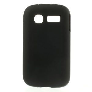 Black Double-sided Matte TPU Case for Alcatel One Touch Pop C1 OT-4015A OT-4015N OT-4015D OT-4015X