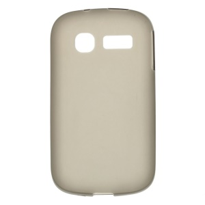 Grey Double-sided Matte TPU Shell Case for Alcatel One Touch Pop C1 OT-4015A OT-4015N