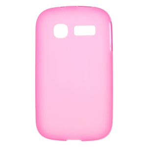 Rose Double-sided Matte TPU Shell for Alcatel One Touch Pop C1 OT-4015D OT-4015X