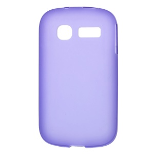 Purple Double-sided Matte TPU Cover for Alcatel One Touch Pop C1 OT-4015A OT-4015D OT-4015N