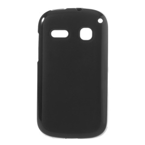 Black Double-sided Matte TPU Gel Case for Alcatel One Touch Pop C3 4033A 4033X 4033D 4033E