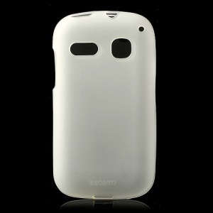 Transparent Double-sided Matte Gel Cover for Alcatel One Touch Pop C3 4033A 4033X