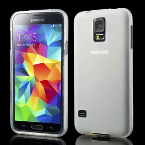 sided Frosted TPU Skin Case for Samsung Galaxy S5 G900 G900A G900T