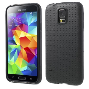 Black Dream Mesh TPU Skin Case para Samsung Galaxy S5 G900