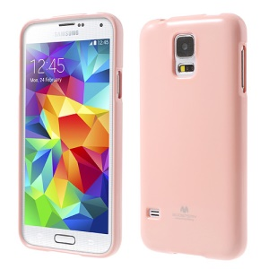 Pink Mercury Shimmering Powder TPU Case Shell for Samsung Galaxy S5 G900