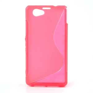Rose S-Line Wave Gel Cover for Sony Xperia Z1 Mini Compact D5503