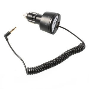 Bluetooth Hands-free Car Kit with 3.5mm Jack USB Charging Port
