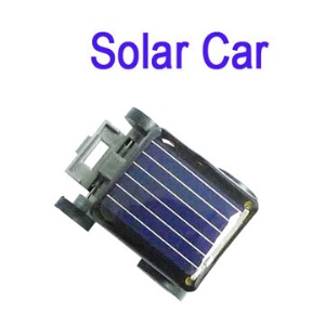 World's Smallest Robot Educational Solar Powered Mini Toy Car