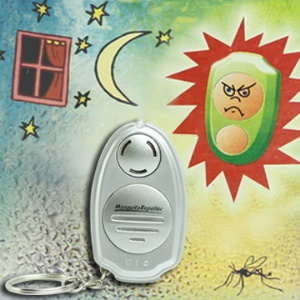 New Ultrasonic Anti Mosquito Insect Repellent Repeller with Keychain