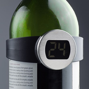 Digital Red or White Wine Vintage Thermometer Temperature Checker Tester Meter