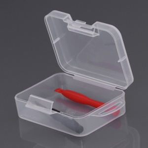 High Quality Plastic Jewelry Tool Storage Box Container(EKB-504) (Size: 9 x 7 x 3cm)