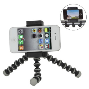Flexible Legs Tripod Stand Holder for iPhone Samsung HTC and Digital Camera