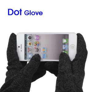 Slim Fit Capacitive Touch Screen Knit Gloves for iPhone 5 The New iPad For Samsung Galaxy Note II N7100 etc