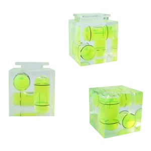 Triple 3 Axis Bubble Spirit Level on Camera Hot Shoe