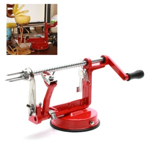 Apple Pear Fruit Potato Peeler Corer Slicer Cutter Machine Kitchen Tool