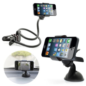 Multi-functional Universal Mobile Phone Holder for iPhone 5 4S For Samsung Galaxy S4 For HTC For Sony etc.