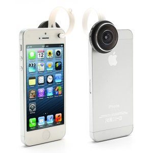 Super 235 Degree Detachable Clip Fish Eye Lens for iPhone 5 5c 5s iPad Samsung HTC Sony
