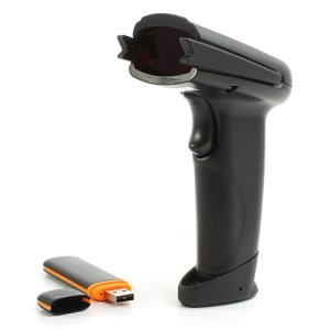 Rechargeable 2.4G Wireless Laser Barcode Scanner Bar Code Reader with USB Receiver WX-2106