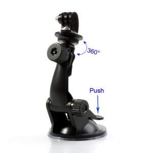 Suction Mount Stand Holder w/ Tripod Mount for GoPro Hero 3 / 2 360 Degree Rotary F05541