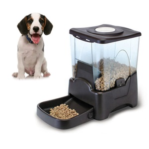 PF-10A Large Automatic Dry Food Portion Control Dog Cat Pet Feeder Timer Auto Dispenser