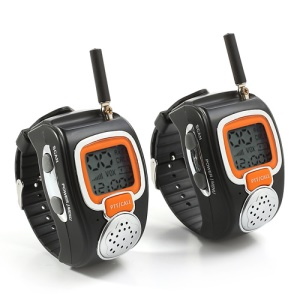2 x Freetalker RD-008 Children Couple Walkie Talkie Wrist Watches Adjustable
