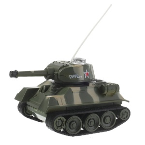 Random Color Rechargeable 2.5-CH Radio Control R/C Mini Tank Model (777-215)