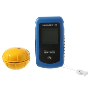 Portable Wireless RF Sonar Fish Finder Color LCD Fishing Tool