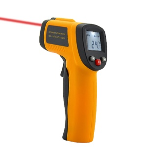 GM300 1,2-Zoll-LCD-Display Infrarot-Thermometer Gun Temperaturmesser Laser-Targeting