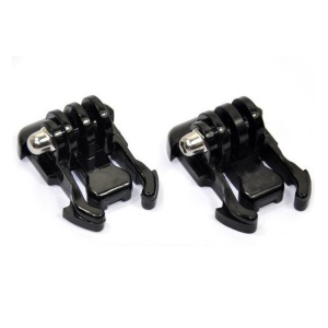 2Pcs Horizontal Surface Quick Release Buckle Mount for GoPro Hero 3+ 3 2 1
