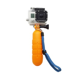 Floaty Bobber Anti-slip Hand Grip with Wrist Strap and Thumb Screw for Gopro Hero 3+/3/2/1