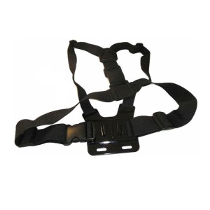 Elastic Adjustable Chest Body Strap for GoPro Hero 3+ 3 2 1