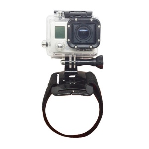 Velcro Wrist Band Mount with Long Screw for Gopro Hero3+ / 3 / 2 / 1