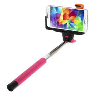 Rose Wireless Handheld Extendable Self-Timer Monopod for Android 3.0 or IOS 4.0 above Smartphones (KJstar Z07-5 2nd Gen)