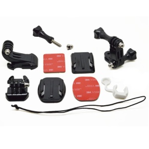 10 in 1 Grab Bag of Mounts Set for Gopro Hero 3+ / 3 / 2 / 1