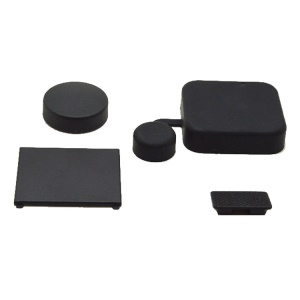 Protective Camera Lens Cover + Housing Lens Cover + Battery Door Cover + Side Door Cover for Gopro Hero3+/4