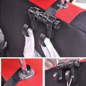 Universal Car Seat Headrest Holder Bag Organizer Hook