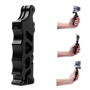 Black Aluminum Alloy Tactical Style Handheld Monopod for Gopro Hero 2 3 3+